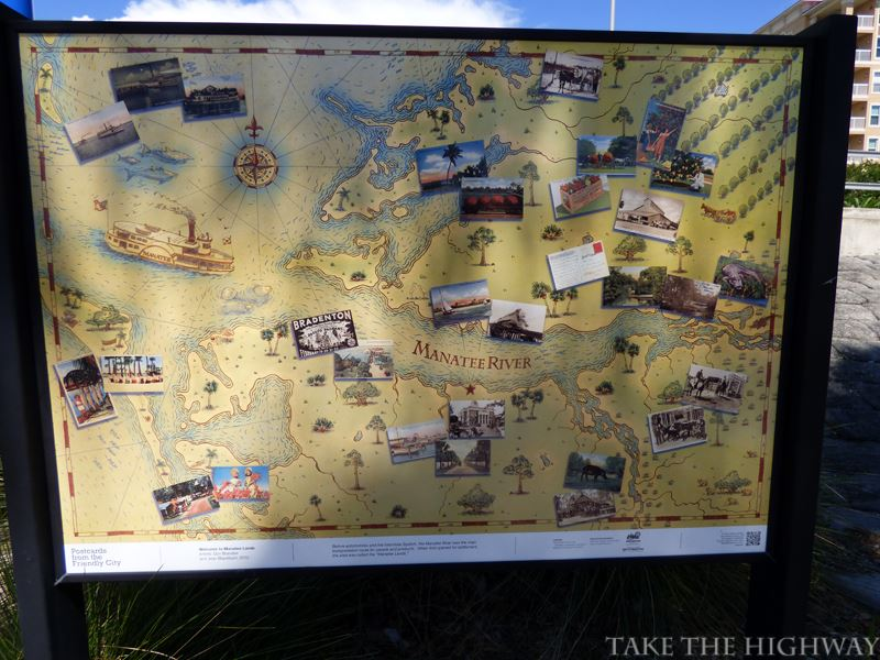 Old time map.