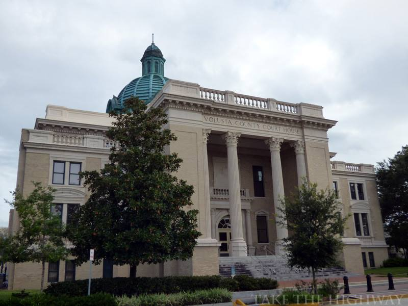 Historic Volusia County Courthouse, built in 1929. A new court house was opened in 2001.