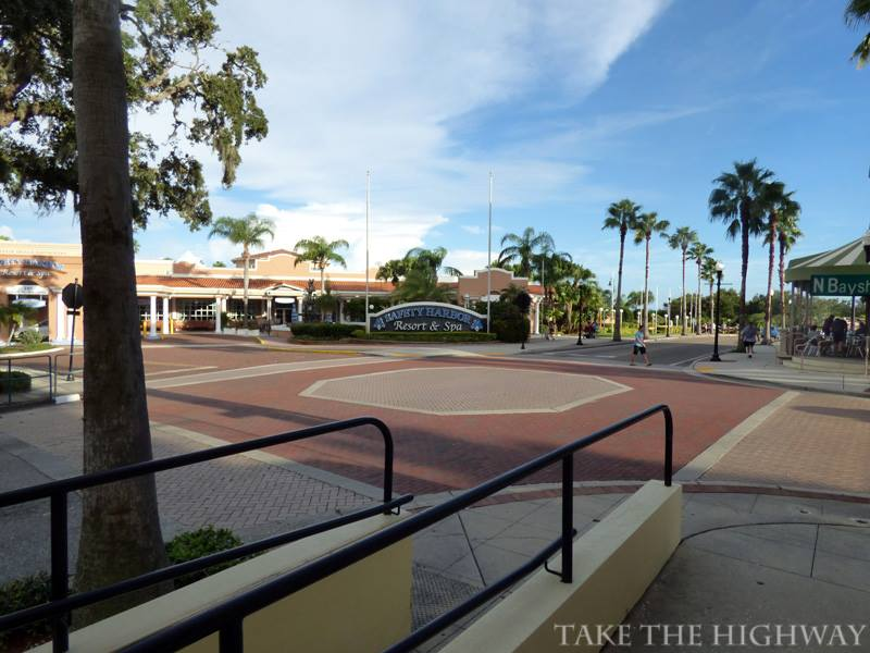 Entrance of Safety Harbor Resort and Spa.