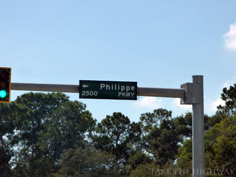 Philippe Parkway at its intersection with State Road 580.